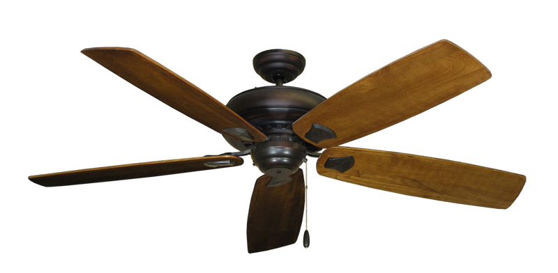 "Picture of Tiara Oil Rubbed Bronze with 60"" Series 725 Arbor Oak Blades"