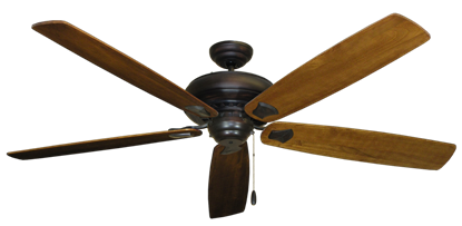 "Picture of Tiara Oil Rubbed Bronze with 72"" Series 750 Arbor Oak Blades"