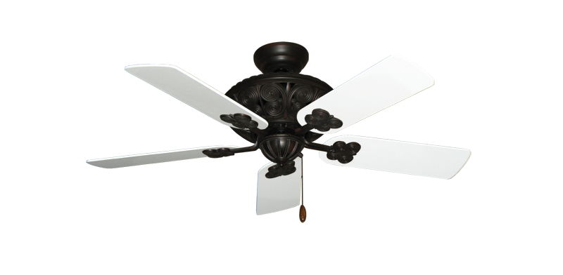 "Picture of Monarch Oil Rubbed Bronze with 44"" Pure White Blades"