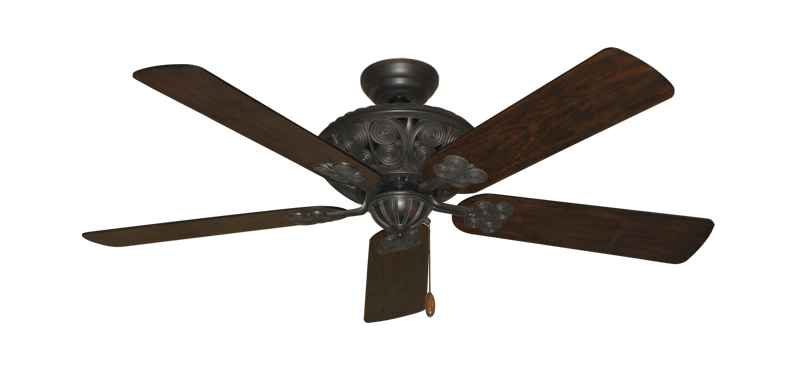 """Picture of Monarch Oil Rubbed Bronze with 52"""" Distressed Hickory Blades"""