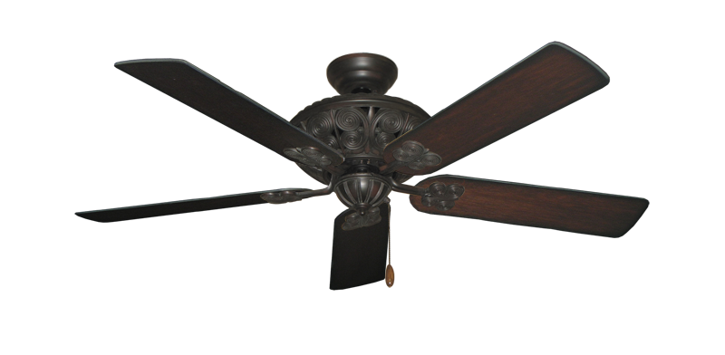 """Picture of Monarch Oil Rubbed Bronze with 52"""" Distressed Cherry Blades"""