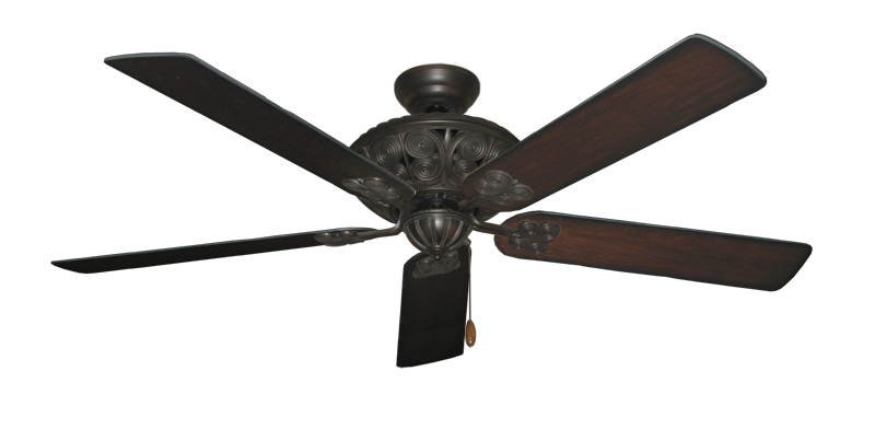 """Picture of Monarch Oil Rubbed Bronze with 60"""" Distressed Cherry Blades"""