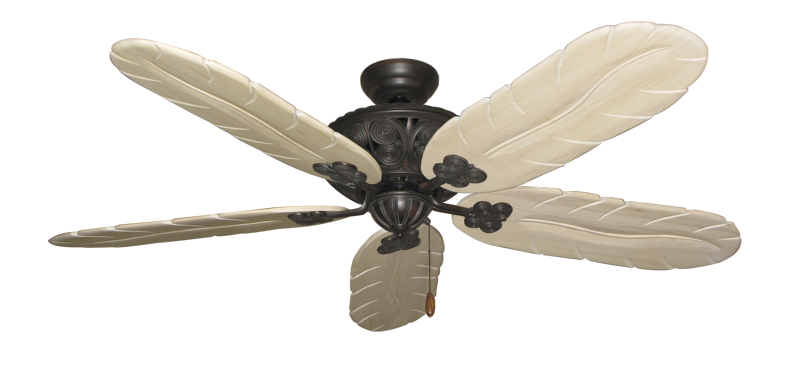 "Picture of Monarch Oil Rubbed Bronze with 58"" Series 500 Arbor Whitewash Blades"