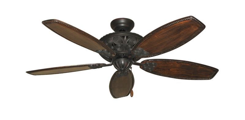 """Picture of Monarch Oil Rubbed Bronze with 52"""" Series 550 Arbor Whitewash Blades"""