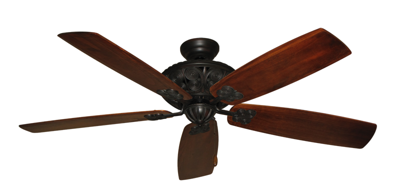 "Picture of Monarch Oil Rubbed Bronze with 60"" Series 725 Arbor Cherrywood Blades"