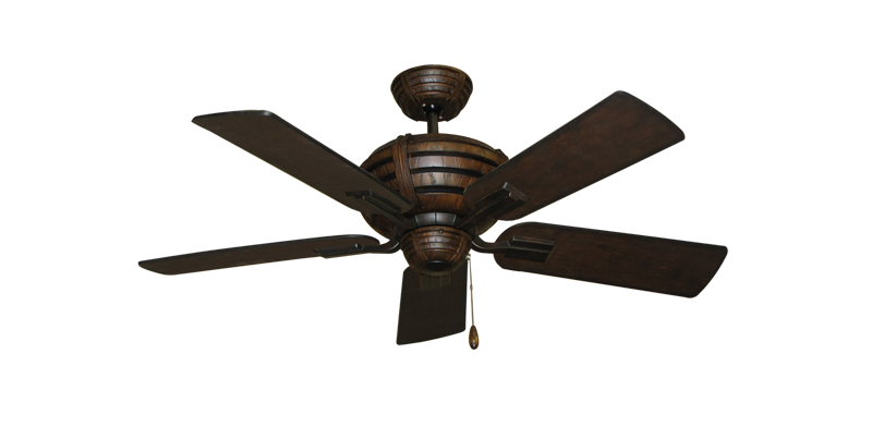 "Picture of Madeira Oil Rubbed Bronze with 44"" Distressed Walnut Blades"
