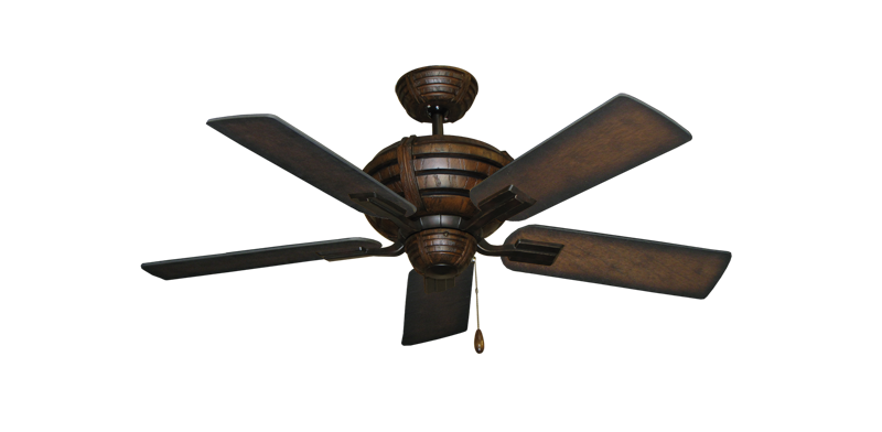 """Picture of Madeira Oil Rubbed Bronze with 44"""" Distressed Hickory Blades"""