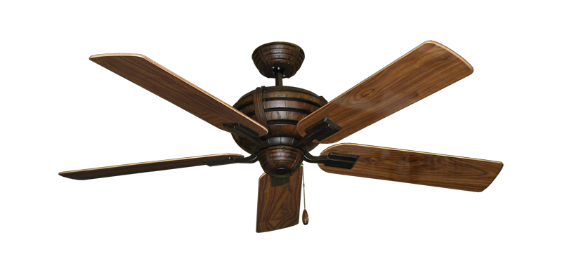 "Picture of Madeira Oil Rubbed Bronze with 52"" Walnut Gloss Blades"