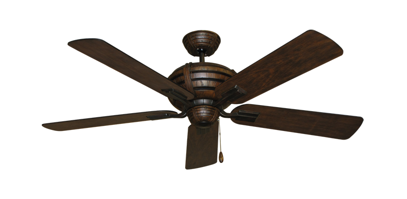 "Picture of Madeira Oil Rubbed Bronze with 52"" Distressed Hickory Blades"