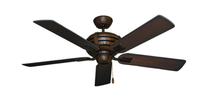 "Picture of Madeira Oil Rubbed Bronze with 52"" Distressed Cherry Blades"