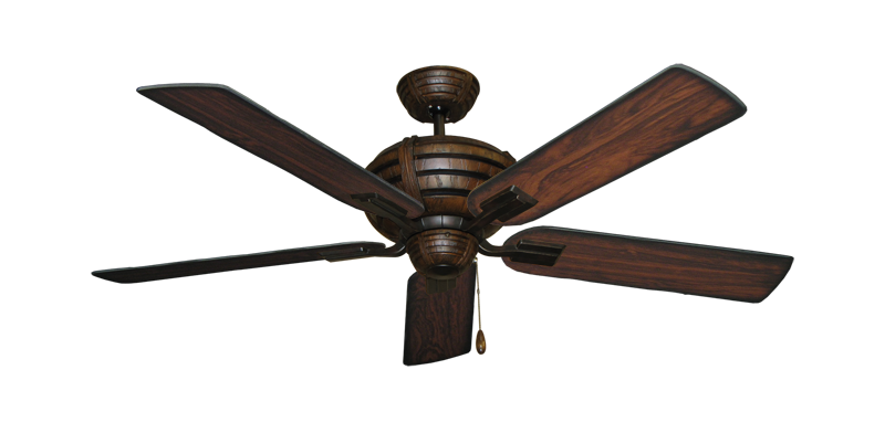 "Picture of Madeira Oil Rubbed Bronze with 52"" Burnt Cherry Blades"