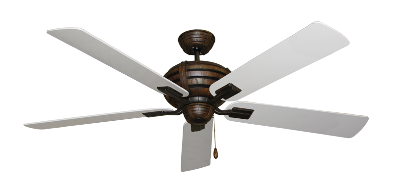 """Picture of Madeira Oil Rubbed Bronze with 60"""" Pure White Blades"""