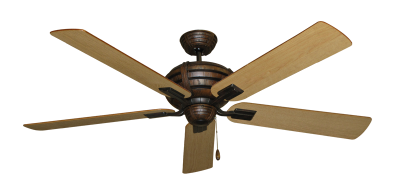 "Picture of Madeira Oil Rubbed Bronze with 60"" Maple Blades"