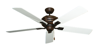 """Picture of Madeira Oil Rubbed Bronze with 60"""" Pure White Gloss Blades"""