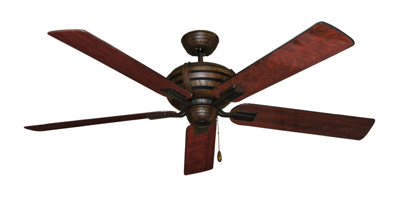 """Picture of Madeira Oil Rubbed Bronze with 60"""" Cherrywood Gloss Blades"""