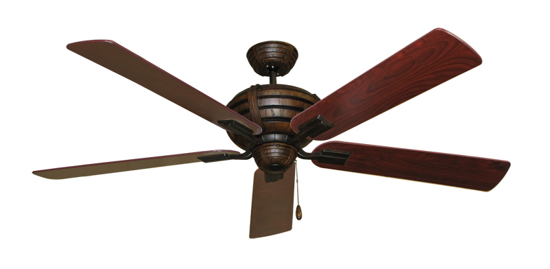 "Picture of Madeira Oil Rubbed Bronze with 60"" Cherrywood Blades"