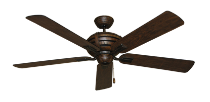 """Picture of Madeira Oil Rubbed Bronze with 60"""" Distressed Hickory Blades"""