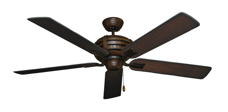 """Picture of Madeira Oil Rubbed Bronze with 60"""" Distressed Cherry Blades"""