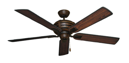 """Picture of Madeira Oil Rubbed Bronze with 60"""" Burnt Cherry Blades"""