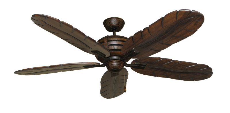 """Picture of Madeira Oil Rubbed Bronze with 58"""" Series 500 Arbor Dark Walnut Blades"""