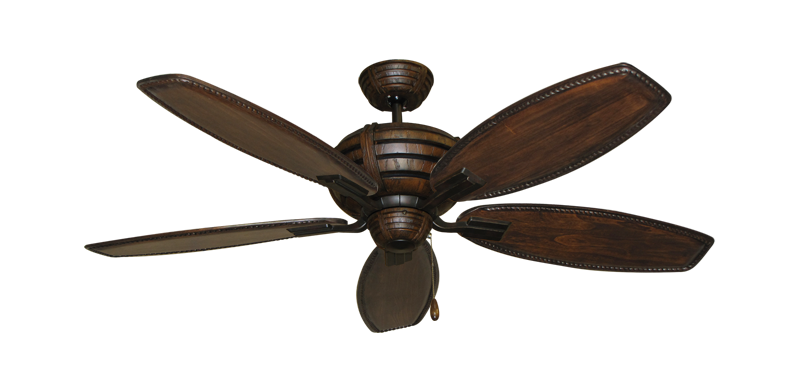 "Picture of Madeira Oil Rubbed Bronze with 52"" Series 550 Arbor Whitewash Blades"
