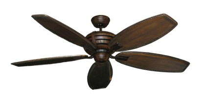 """Picture of Madeira Oil Rubbed Bronze with 60"""" Series 525 Arbor Dark Walnut Blades"""