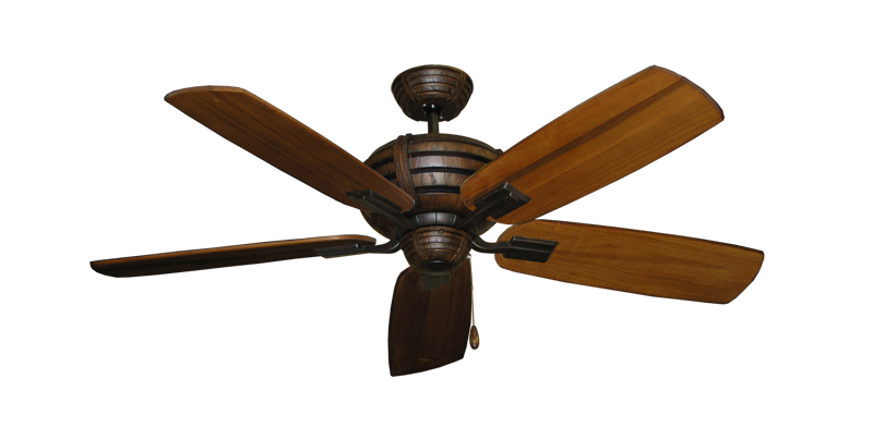 "Picture of Madeira Oil Rubbed Bronze with 52"" Series 710 Arbor Oak Blades"