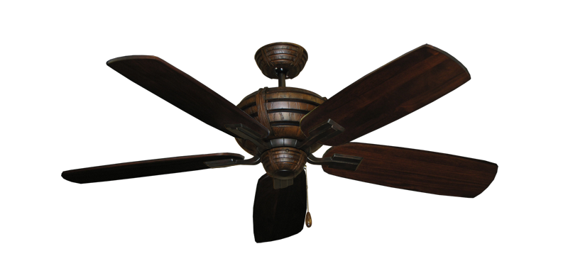 """Picture of Madeira Oil Rubbed Bronze with 52"""" Series 710 Arbor Cherrywood Blades"""