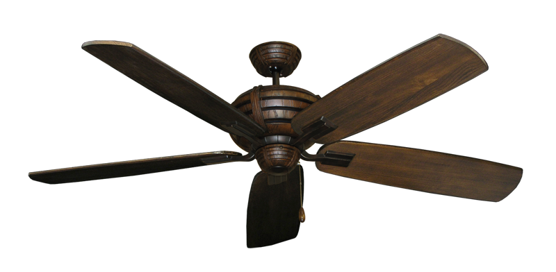 """Picture of Madeira Oil Rubbed Bronze with 60"""" Series 725 Arbor Dark Walnut Blades"""
