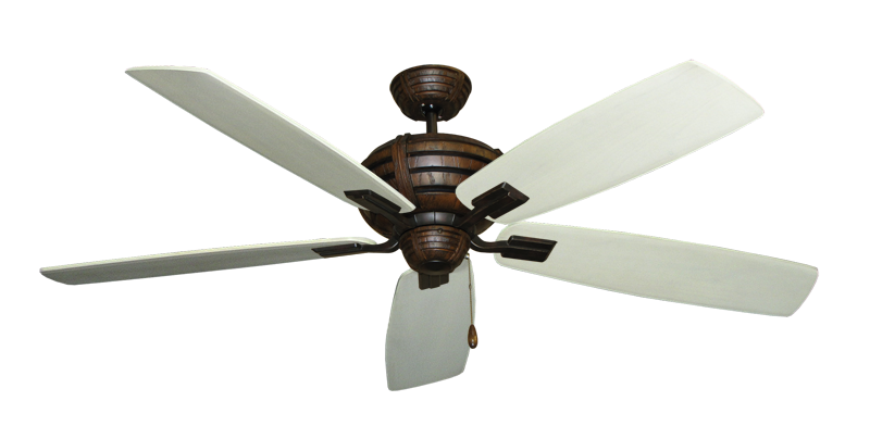 """Picture of Madeira Oil Rubbed Bronze with 60"""" Series 725 Arbor Whitewash Blades"""