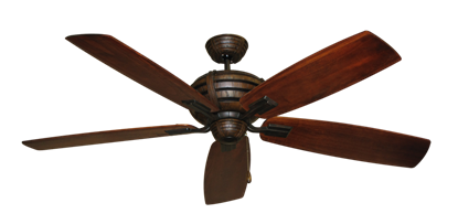 "Picture of Madeira Oil Rubbed Bronze with 60"" Series 725 Arbor Cherrywood Blades"