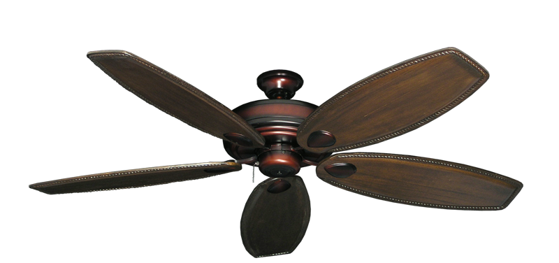 "Picture of Futura Wine with 60"" Series 525 Arbor Dark Walnut Blades"