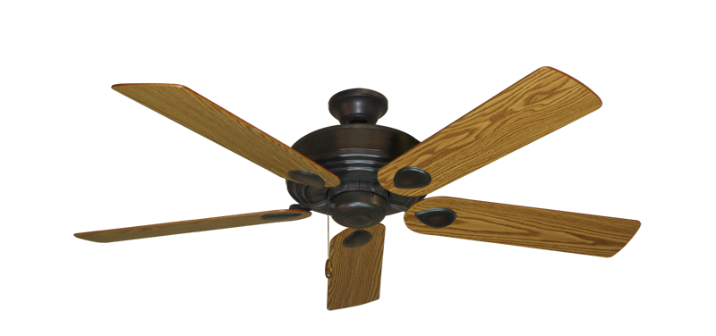 "Picture of Futura Oil Rubbed Bronze with 52"" Oak Blades"