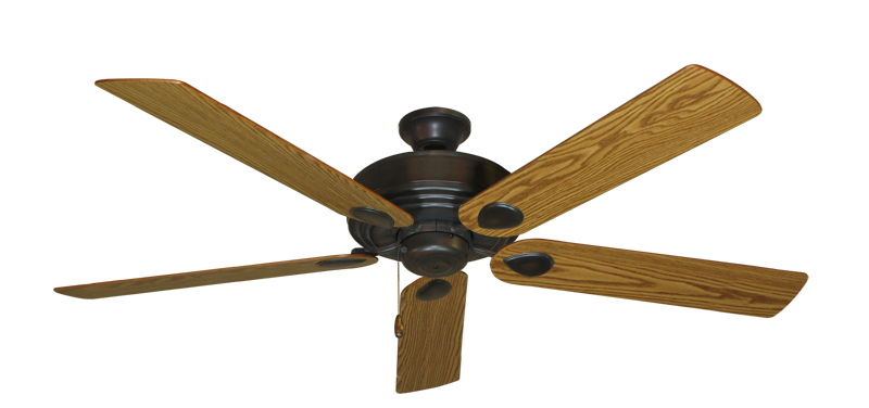 "Picture of Futura Oil Rubbed Bronze with 60"" Oak Blades"