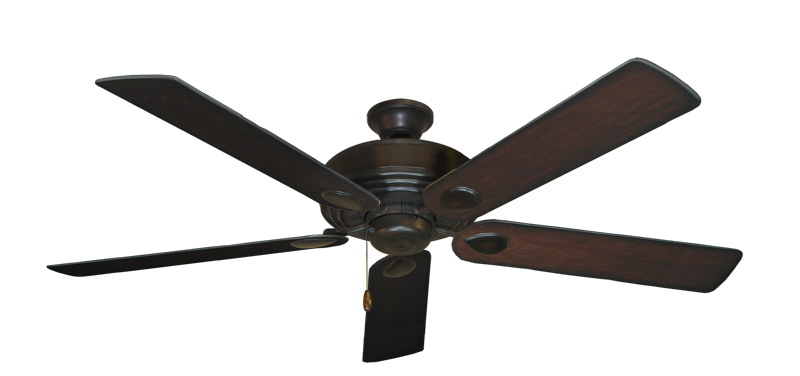 "Picture of Futura Oil Rubbed Bronze with 60"" Distressed Cherry Blades"