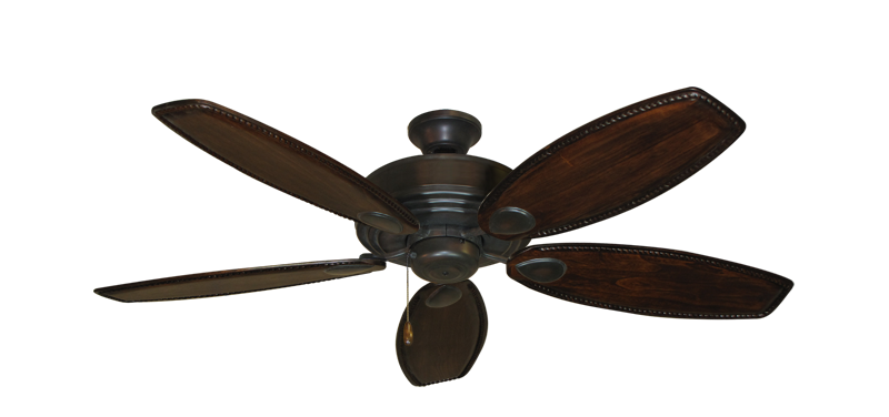 "Picture of Futura Oil Rubbed Bronze with 52"" Series 550 Arbor Dark Walnut Blades"