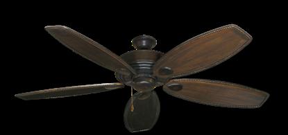 "Picture of Futura Oil Rubbed Bronze with 60"" Series 525 Arbor Dark Walnut Blades"