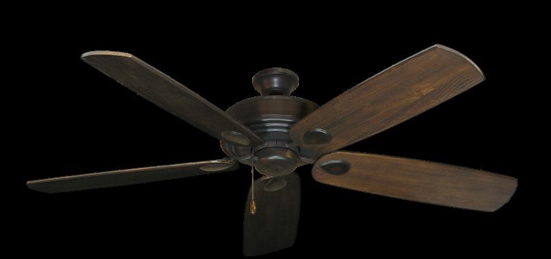 "Picture of Futura Oil Rubbed Bronze with 60"" Series 725 Arbor Dark Walnut Blades"