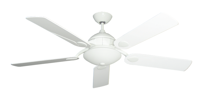 """Picture of Majestic Pure White with 52"""" Pure White Gloss Blades"""