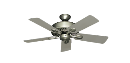 """Picture of Meridian Satin Steel with 44"""" Satin Steel (painted) Blades"""