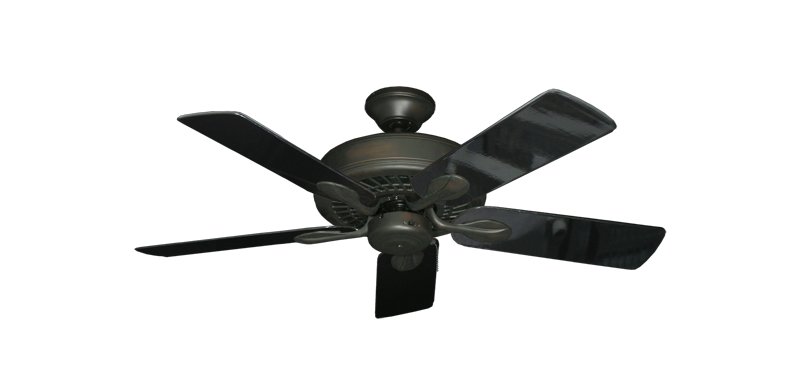 """Picture of Meridian Oil Rubbed Bronze with 44"""" Black Gloss Blades"""