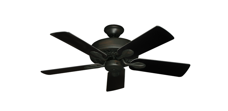 "Picture of Meridian Oil Rubbed Bronze with 44"" Black Blades"
