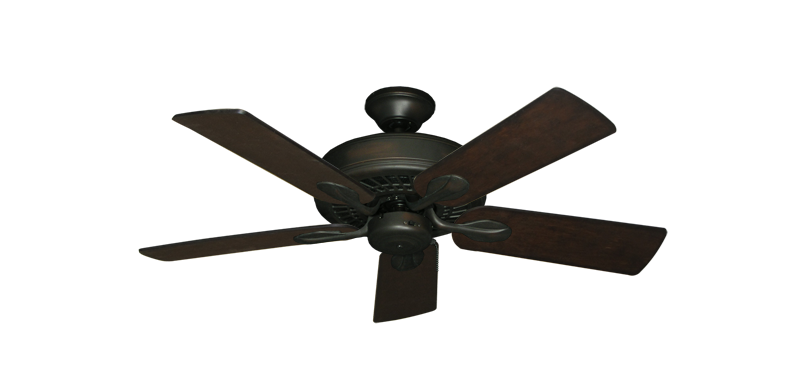 """Picture of Meridian Oil Rubbed Bronze with 44"""" Distressed Walnut Blades"""