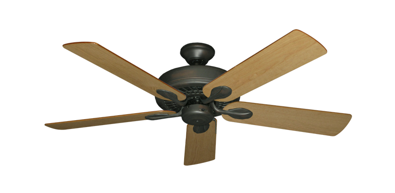 "Picture of Meridian Oil Rubbed Bronze with 52"" Maple Blades"