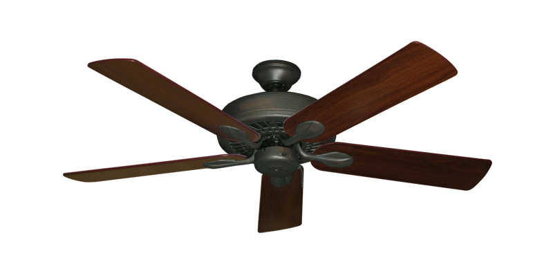 """Picture of Meridian Oil Rubbed Bronze with 52"""" Walnut Blades"""
