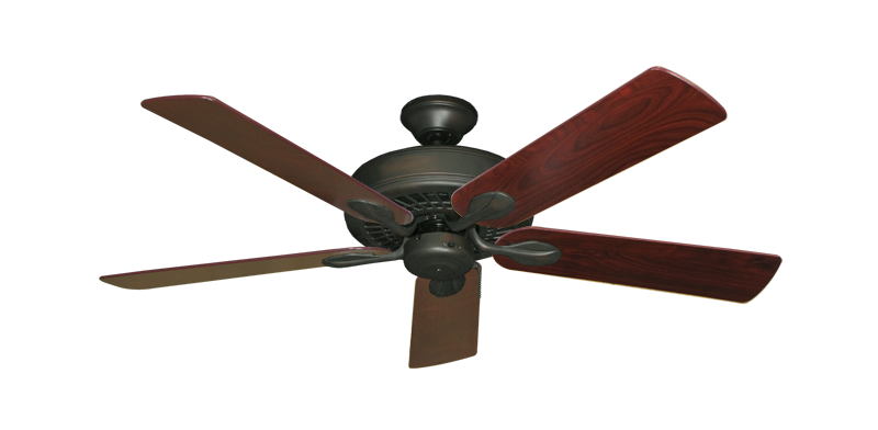 "Picture of Meridian Oil Rubbed Bronze with 52"" Cherrywood Blades"