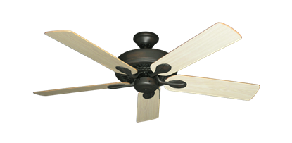 "Picture of Meridian Oil Rubbed Bronze with 52"" Unfinished Oak Blades"