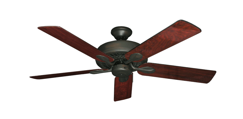 "Picture of Meridian Oil Rubbed Bronze with 52"" Cherrywood Gloss Blades"
