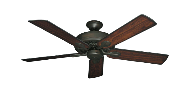 "Picture of Meridian Oil Rubbed Bronze with 52"" Burnt Cherry Blades"