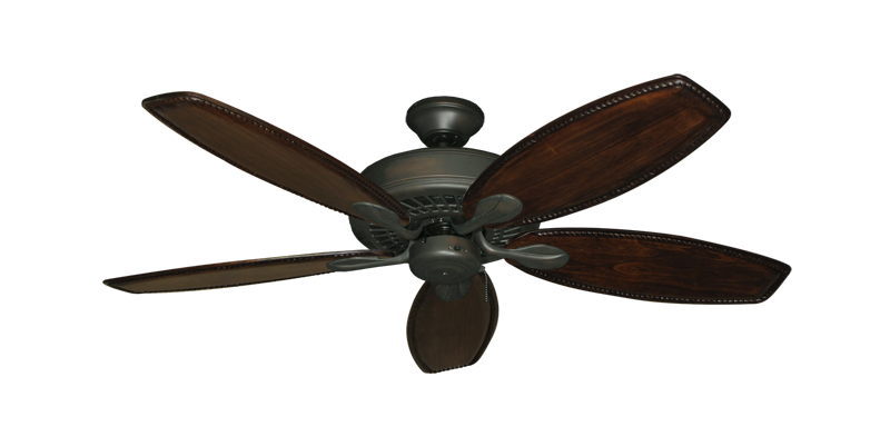 "Picture of Meridian Oil Rubbed Bronze with 52"" Series 550 Arbor Dark Walnut Blades"